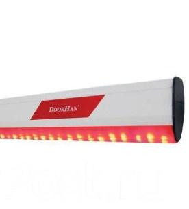 Стрела с подсветкой Boom-6-LED для шлагбаума Doorhan Barrier-6000