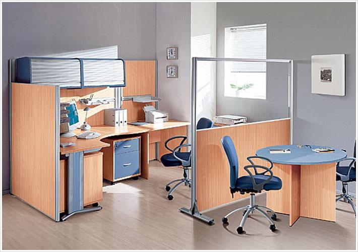 ЛДСП мобильные перегородки для офисных столов