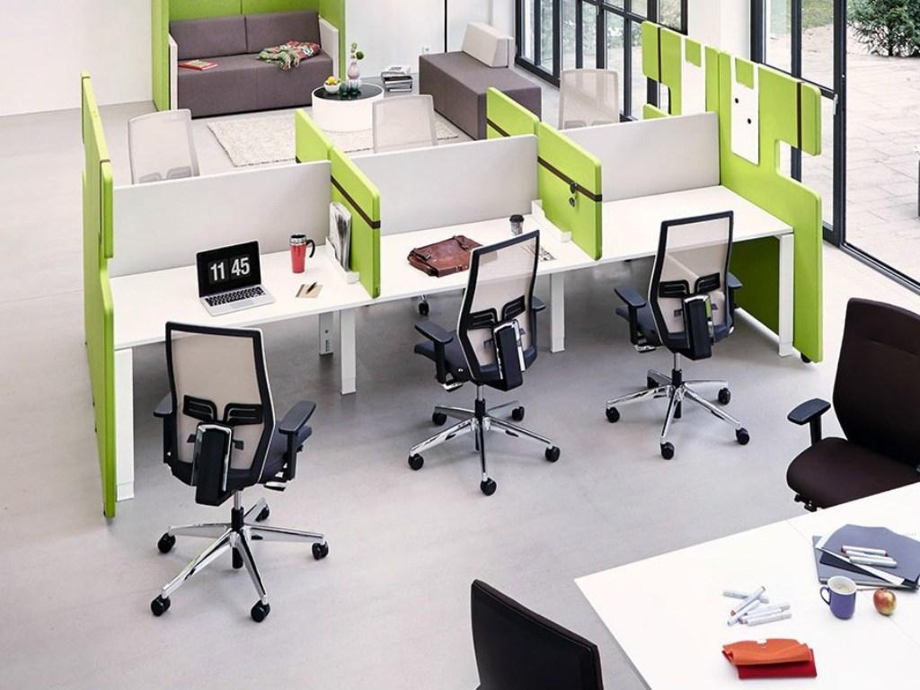 Перегородки для офисных столов из поликарбоната