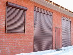 Рольставни для автозаправки на двери и окно
