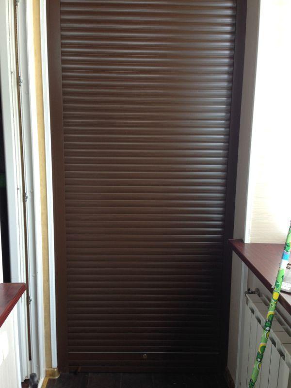 Рольставни для балконного шкафа