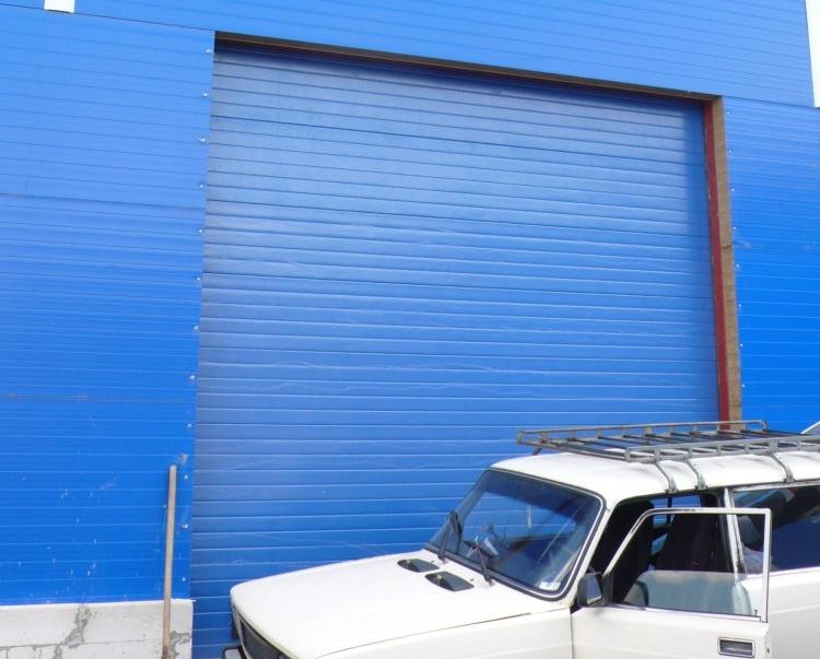 Промышленные ворота Дорхан с вертикальным подъемом 4000х4000