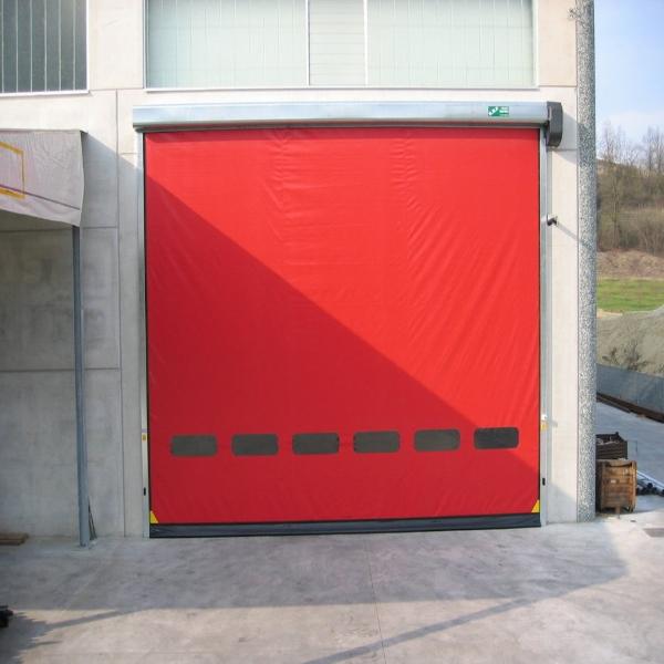 Наружные скоростные ворота для гаража