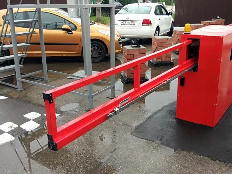 Антивандальный шлагбаум Дорхан для частной парковки