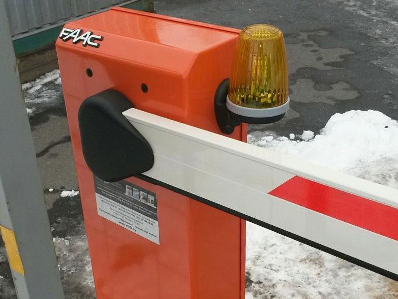 Комплект шлагбаума FAAC для парковки