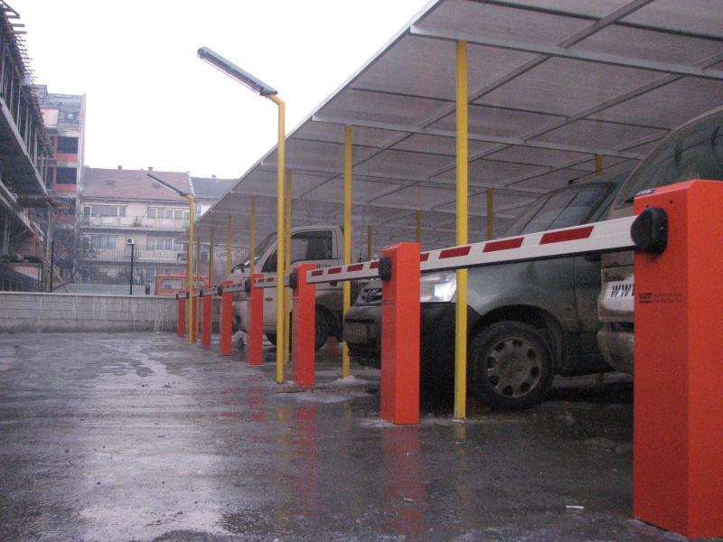 Комплект шлагбаума FAAC для парковки грузовиков