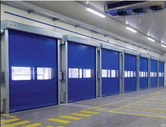 Скоростные ворота для складских комплексов с низкими температурами