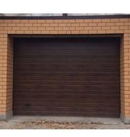 Секционные гаражные ворота с приводом DoorHan
