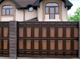 Ворота откатные  с приводом Came для дома загородного
