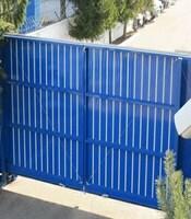Раздвижные ворота с приводом Came для предприятия