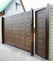 Раздвижные ворота с приводом Came для частного дома