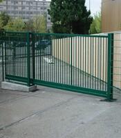 Раздвижные ворота с приводом Doorhan для предприятия