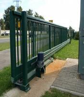 Ворота раздвижные с приводом Doorhan для предприятия