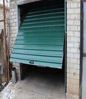 Подъёмные ворота с приводом Doorhan для гаража