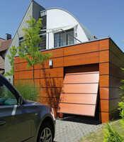 Ворота подъёмные с приводом Doorhan для гаража