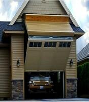 Подъёмные ворота с приводом Doorhan в гараж