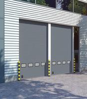 Секционные промышленные ворота с приводом Doorhan