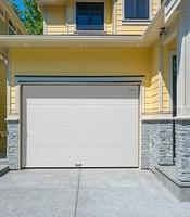 Секционные ворота с приводом Doorhan в гараж