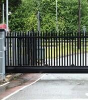 Ворота с приводом FAAC откатные